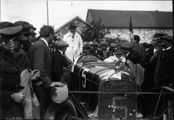 1922 De Tornaco at the 1922 Belgian Grand Prix 3