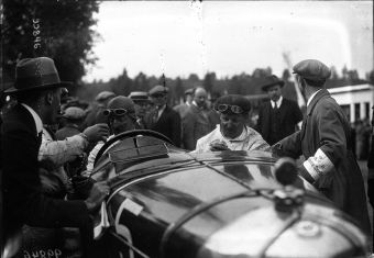 1922 De Tornaco at the 1922 Belgian Grand Prix