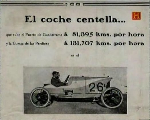 1923 Abadal Buick ad