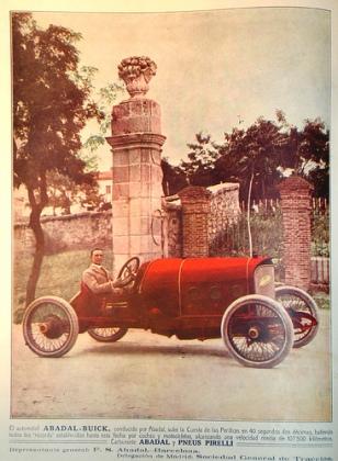 1923 Abadal Buick adv
