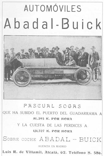 1923 Abadal Buick pub