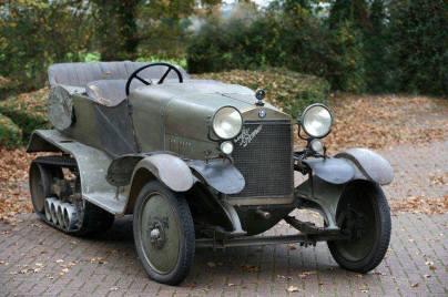 1924 Alfa Romeo RM Four Wheel Drive Half Track Torpedo de 1924