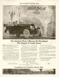 1926 Abbott Detroit ad