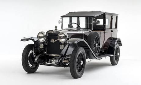 1926 Alfa Romeo RL T Limousine-de-Ville a