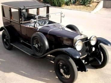 1926 Alfa Romeo RL T Limousine-de-Ville