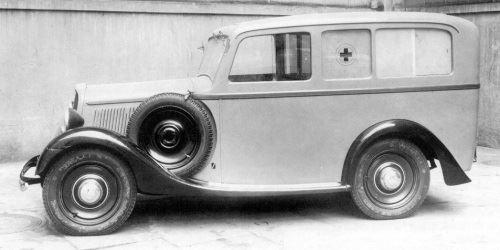 1930-40 Alfa Romeo Ambulancia a