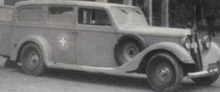 1930-40 Alfa Romeo Ambulancia e