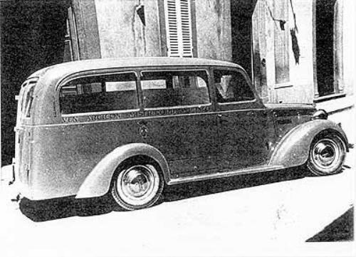 1930-40 Alfa Romeo Ambulancia f