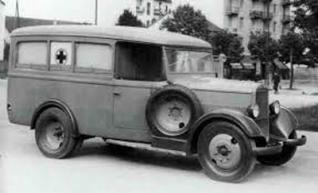 1930-40 Alfa Romeo Ambulancia h