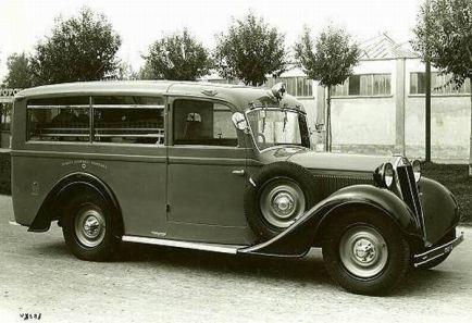 1930-40 Alfa Romeo Ambulancia j
