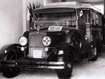 1930-40 Alfa Romeo Ambulancia