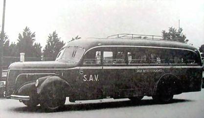 1930 Alfa Romeo Viberti SOLVAY SAN CARLO BUS