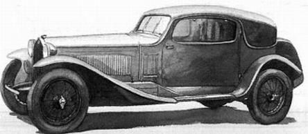 1931 Alfa romeo 6c 1750 gtc
