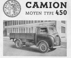 1931 Alfa Romeo Camion Moyen Type 450 ad