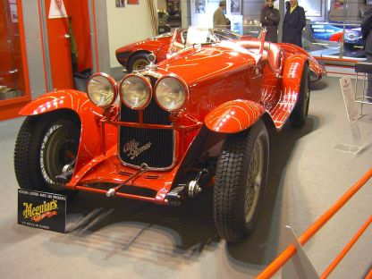 1931 Alfa Romeo - Spider 8C 2300
