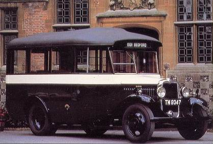 1931 Bedford WHB 14-Seater Bus