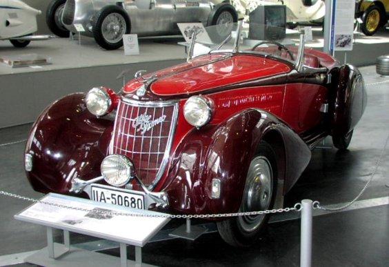 1931 MHV Alfa-Romeo 6C Gran Sport