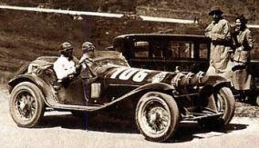 1932 Alfa romeo borzacchini-bignami zwyc mille miglia