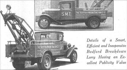 1932 bedford break down lorry