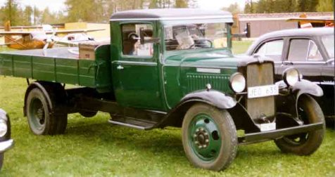 1932 Bedford Six WLG 2,5-ton Lastbil