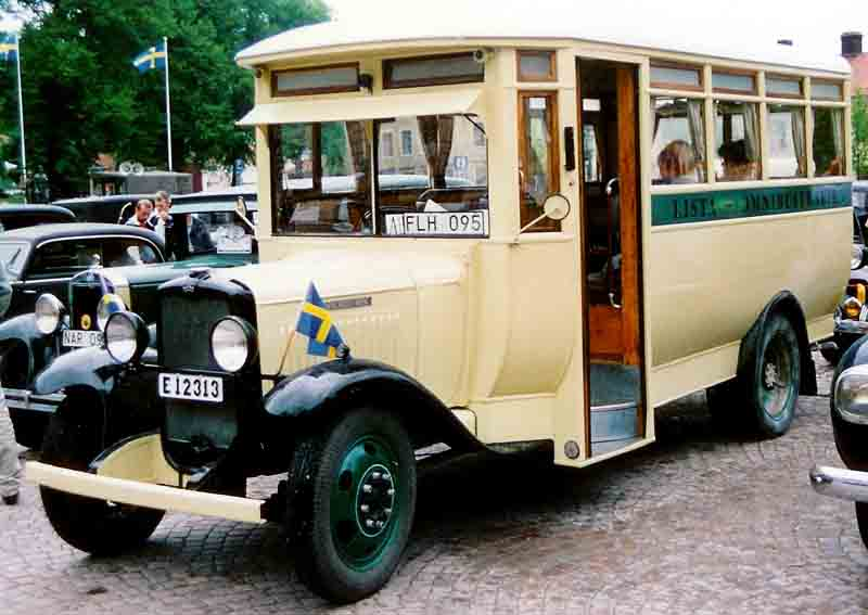 1932 Bedford WLG Omnibuss