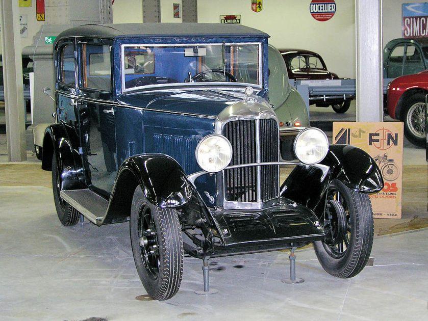 1932 Imperia 7-25 CV berline