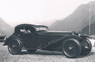 1933 Alfa Romeo 8C 2300 Coupe Touring