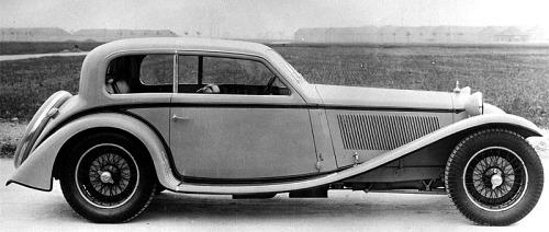 1933 Alfa romeo 8c 2300 coupe victoria
