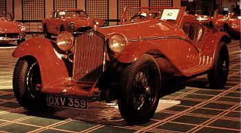 1933 Alfa romeo 8c 2300 roadster