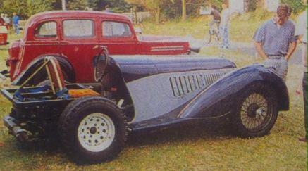 1933 Eliso Freccia, fictional Alfa Romeo 8C-inspired 'Poirot' DS811