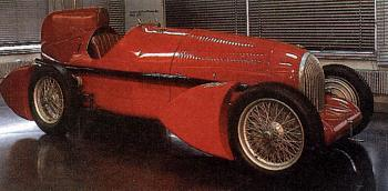 1934 Alfa romeo tipo b aerodinamica