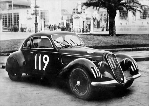 1935-1938 ALFA ROMEO 6C 2300 B Mille Miglia