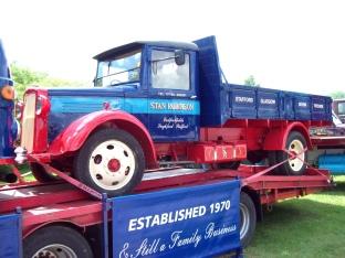 1936 Bedford WL Engine 3750cc Registration RD 9049