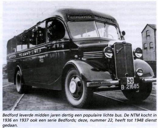 1936 Bedford WTL Hainje