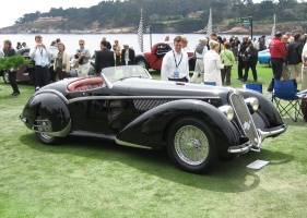 1937 Alfa Romeo 8C 2900B Touring Spider