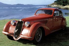 1937 Alfa romeo 8c 2900b