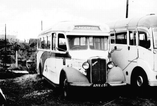 1937 Bedford WTB ANR281 a Duple Hendonian C26F bodied