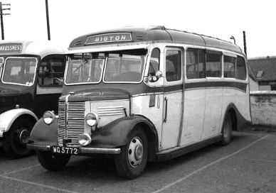 1937 Bedford WTB Duple 20pass WG5772