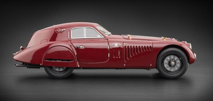 1938 Alfa Romeo 8C 2900 B Touring Le Mans super