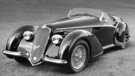 1938 Alfa Romeo 8C 2900 B