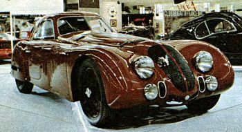 1938 Alfa romeo 8c 2900 touring