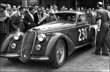 1938 Alfa romeo 8c 2900b lungo
