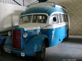 1938 Bedford WLG (re-engined Barreiros)