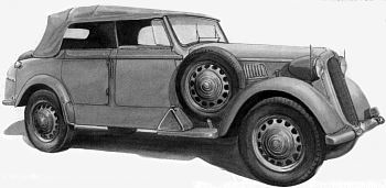 1939 Alfa romeo 6c 2500 coloniale