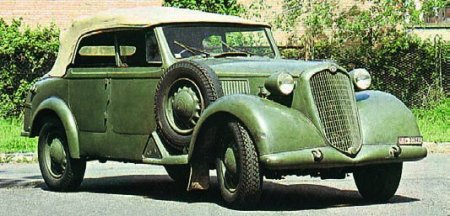 1939 Alfa Romeo 6С2500 Coloniale