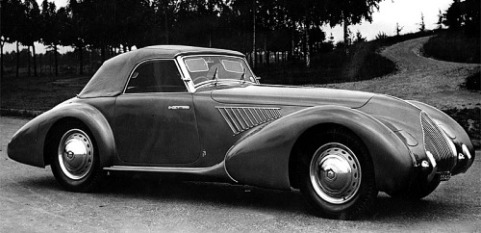 1939 Alfa romeo 8c 2900b spider sport