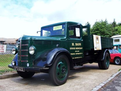 1939 Bedford WL Dropsider