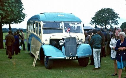 1939 Bedford WTB with a Heaver C25F body, delivered to Taylors' of Exeter