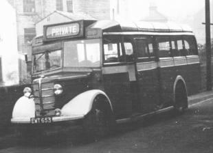 1942-62 Bedford OWB SMT B32F seat EWT653