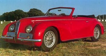 1942 Alfa romeo 6c2500 sport cabrio by touring